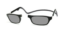 Clic Compact Sunreaders in Black Frame with Black Headband