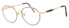 Fashion Optical Designer Reading Glasses Novara in Gold Demi Amber 51mm