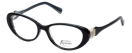 Guess by Marciano Designer Reading Glasses GM185-BKWT in Black-White