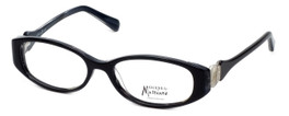 Guess by Marciano Designer Reading Glasses GM186-BKWT in Black