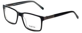 Big and Tall Designer Eyeglasses Big-And-Tall-14-Black-Crystal in Black Crystal 58mm :: Rx Single Vision