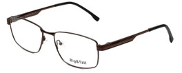 Big and Tall Designer Eyeglasses Big-And-Tall-16-Brown in Brown 59mm :: Rx Single Vision