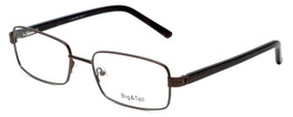 Big and Tall Designer Eyeglasses Big-And-Tall-1-Brown in Brown 60mm :: Rx Single Vision