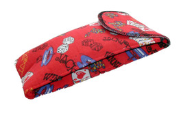 VIP Large Casino Styled Soft Eyeglass Case 4168