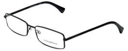 e0e01431c5 Emporio Armani Designer Eyeglasses EA1003-3001 in Matte Black 54mm    Rx  Single Vision