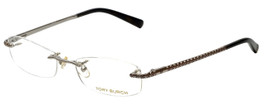Tory Burch Designer Reading Glasses TY1005-102 in Silver 52mm