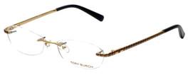 Tory Burch Designer Reading Glasses TY1006-300 in Gold Black 52mm