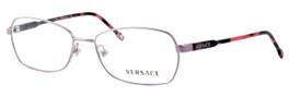 Versace 1192-1299-52mm Designer Eyeglasses in Pink :: Rx Bi-Focal