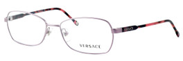 Versace 1192-1299-52mm Designer Eyeglasses in Pink :: Custom Left & Right Lens
