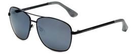 VIP Isaac Mizrahi Designer Sunglasses Aviator in Black with Flash Mirror