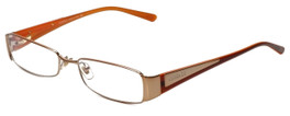 c1fae93f4d4 Versace Designer Eyeglasses 1084-1052 in Copper Orange 52mm    Custom Left
