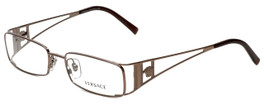 Versace Designer Reading Glasses 1111-1013-51 in Brown 51mm