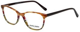 Marie Claire Designer Reading Glasses MC6246-APS in Apple Stripe 53mm