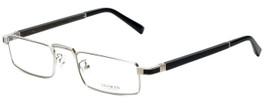 Gold & Wood Designer Reading Glasses Centaur-02 in Silver 52mm