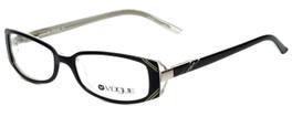 Vogue Designer Eyeglasses VO2394-1295 in Black White 52mm :: Custom Left & Right Lens