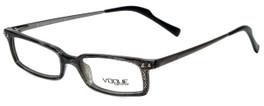 Vogue Designer Eyeglasses VO2380-1265 in Black Screen 48mm :: Rx Single Vision