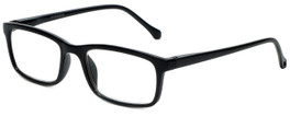 M Readers Designer Reading Glasses 105-SBLK in Black 52mm