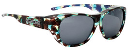Jonathan Paul® Fitovers Eyewear Extra Large Allure in Turquoise Demi & Gray AU003
