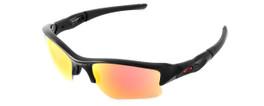 Oakley Sunglasses: Special Edition MLB Flak Jacket XLJ in Polished Black & Rudy Iridium Lenses (OO9009-16)