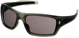 Oakley Designer Sunglasses Turbine OO9263-19 in Matte Olive Ink with Grey Lens