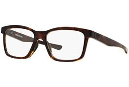 Oakley Designer Eyeglasses Fenceline OX8069-0253 in Polished-Tortoise 53mm :: Progressive