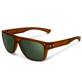 Oakley Designer Sunglasses Breadbox in Matte Amber & Grey Lens (OO9199-07)