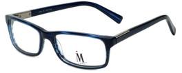 Isaac Mizrahi Designer Reading Glasses M500-05 in Indigo 54mm