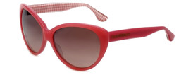 Isaac Mizrahi Designer Sunglasses IM13-79 in Pink with Brown Lens