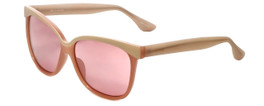 Isaac Mizrahi Designer Sunglasses IM86-73 in Bubbly Pink with Pink Lens