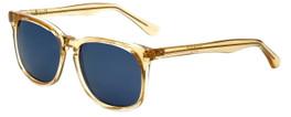 Isaac Mizrahi Designer Sunglasses IM98-87 in Warm Sun with Blue Lens