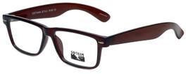 Gotham Style Designer Reading Glasses GS182-BRN in Brown 54mm