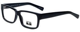 Gotham Style Designer Reading Glasses GS204-BLK in Black 56mm