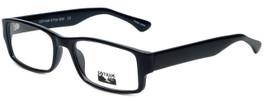 Gotham Style Designer Reading Glasses GS232-BLK in Black 60mm