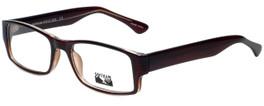 Gotham Style Designer Reading Glasses GS232-BRN in Brown 60mm