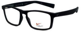 Nike Designer Eyeglasses Nike-4258-004 in Black Bomber Grey 53mm :: Custom Left & Right Lens