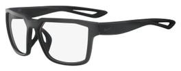 Nike Designer Eyeglasses Fleet-001 in Matte Black 55mm :: Custom Left & Right Lens