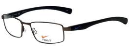 Nike Designer Eyeglasses Nike-4257-034 in Brushed Gunmetal Black 53mm :: Custom Left & Right Lens