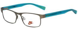 Nike Designer Reading Glasses Nike-5574-070 in Gunmetal Volt 47mm