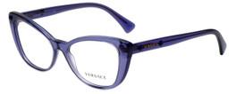 Versace Designer Eyeglasses 3222B-5160 in Violet 54mm :: Progressive