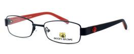 Body Glove BB119 Designer Reading Glasses in Black & Red