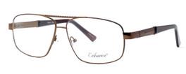 Enhance Optical Designer Reading Glasses 3920 in Matte-Coffee