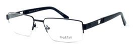 "Calabria Optical Designer Reading Glasses ""Big And Tall"" Style 7 in Black"