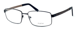 "Calabria Optical Designer Reading Glasses ""Big And Tall"" Style 12 in Black-Brown"