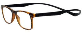 Magz Designer Eyeglasses Astoria in Tortoise 50mm :: Custom Left & Right Lens