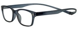 Magz Designer Eyeglasses Greenwich in Smoke 50mm :: Rx Single Vision