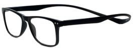 Magz Designer Eyeglasses Astoria in Black 50mm :: Rx Bi-Focal