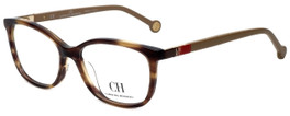 Carolina Herrera Designer Eyeglasses VHE674K-06HN in Tortoise 53mm :: Progressive