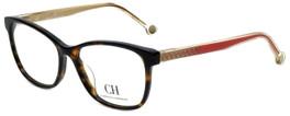 Carolina Herrera Designer Eyeglasses VHE676K-0722 in Havana 54mm :: Progressive