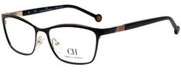 Carolina Herrera Designer Eyeglasses VHE083K-0301 in Black 54mm :: Rx Bi-Focal