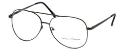 Hampton Collection Designer Reading Glasses HN2206 in Gunmetal 60mm